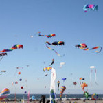 Easter Monday – Jamaica International Kite Festival – nice line-up :-)