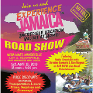 """Experience Jamaica"" Road Show in Mandeville tomorrow (4/13)"