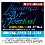 Liguanea Art Festival Celebrates 10th Anniversary on Sunday April 21, 2013