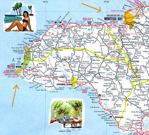 montego-bay-to-negril-map